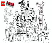 Coloriage lego marvel the movie film 2017