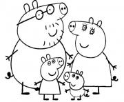 Coloriage peppa pig 12 dessin