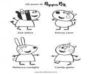 Coloriage peppa pig 243