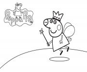 Coloriage peppa pig 66