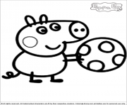 Coloriage peppa pig 268
