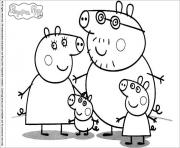 Coloriage peppa pig 47