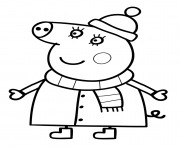 Coloriage peppa pig 68