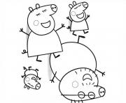 Coloriage peppa pig 246