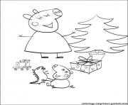 Coloriage peppa pig 12