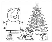 Coloriage peppa pig 93 dessin