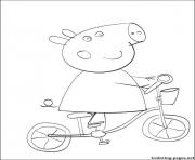 Coloriage peppa pig 130