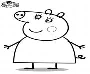 Coloriage peppa pig 245