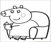 Coloriage peppa pig 282