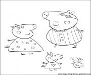 Coloriage peppa pig 37 dessin
