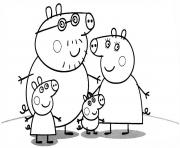Coloriage peppa pig 87