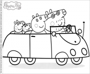Coloriage peppa pig 5 dessin