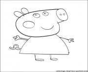 Coloriage peppa pig 18
