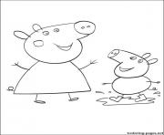 Coloriage peppa pig 96