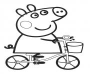 Coloriage peppa pig 50 dessin