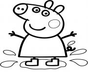 Coloriage peppa pig 247
