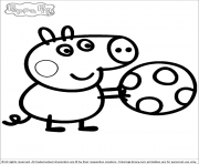 Coloriage peppa pig 29