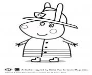 Coloriage peppa pig 44 dessin