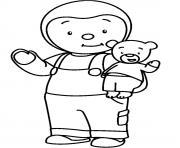 tchoupi et doudou 1 dessin à colorier