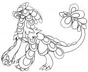 Ekaiser pokemon soleil lune dessin à colorier