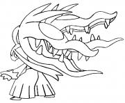 Coloriage pokemon mega evolution Mysdibule 303
