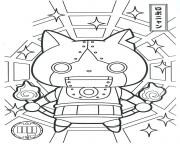 Coloriage Yokai Watch A Imprimer Dessin Sur Coloriage Info