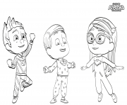 Coloriage Pyjamasques à Imprimer Gratuit Sur Coloriageinfo