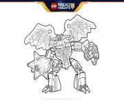 Coloriage Lego Nexo Knights Formation Line Boucliers Dessin