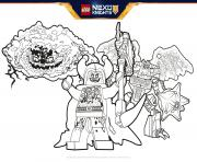 lego nexo knights BadGuys Formation dessin à colorier