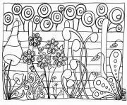 Coloriage Printemps à Imprimer Gratuit Sur Coloriageinfo