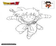 Coloriage dbz gohan dragon ball z officiel