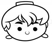 tsum tsum aladdin dessin à colorier