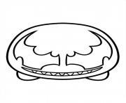 tsum tsum venom dessin à colorier