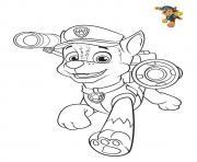 pat patrouille chase colorier dessin à colorier