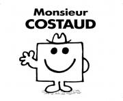 Coloriage m constaud monsieur madame