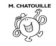 Coloriage monsieur madame m chatouille
