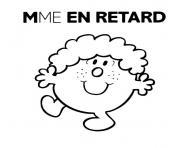 Coloriage Monsieur Madame à Imprimer Dessin Sur Coloriage Info