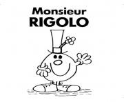 Coloriage monsieur madame rigolo