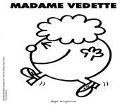 Coloriage Monsieur Madame à Imprimer Gratuit Sur Coloriageinfo