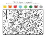 magique amusant de halloween dessin à colorier
