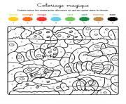 Coloriage Paques Magique.Coloriage Magique A Imprimer Dessin Sur Coloriage Info
