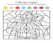 magique dun personnage de conte dessin à colorier