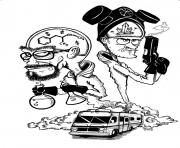 Coloriage breaking bad by camikaze