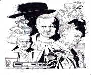 Coloriage breaking bad montage by stevenwilcox