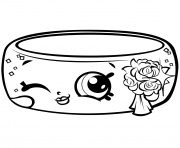 Coloriage saison 7 Precious Shopkin Wedding Ring Andy Bandy Shopville