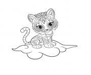 shimmer et shine Nahal Printable dessin à colorier