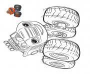 balze sort les grandes roues dessin à colorier