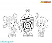 Coloriage umizoomi enfant facile