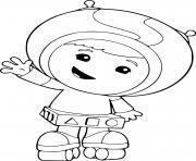 umizoomi geo patine dessin à colorier
