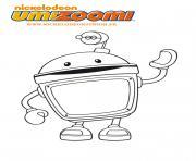 umizoomi robot dessin à colorier